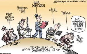 communication cartoon